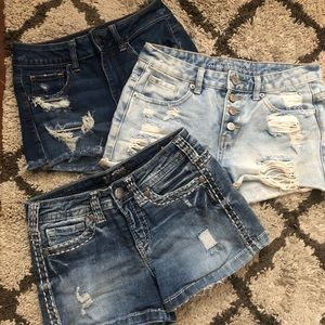 Lot of 3, American Eagle, Almost Famous, Silver